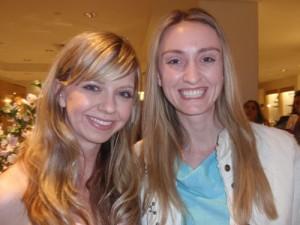 Carol Hannah and Alexandra