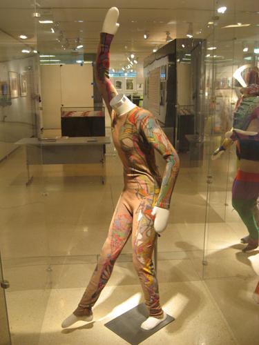 Merce Cunningham mannequin