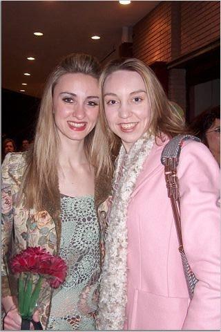 Alexandra and Alyson