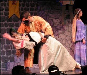 Pantomime Princess en pointe